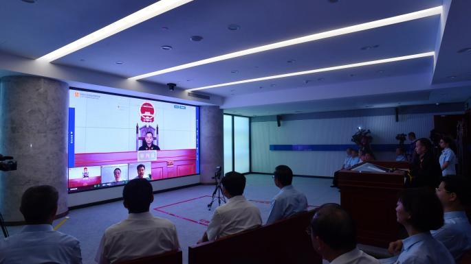 Chinas erstes Cyber-Gericht hört die Internet-Fälleonline