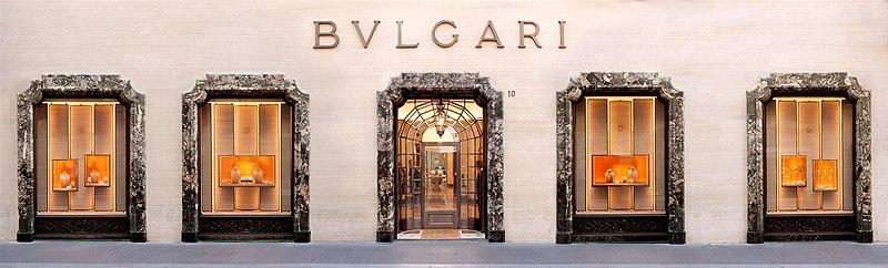 BVLGARI wird in China als bekannte Markeanerkannt